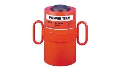 1//2 Stroke 30 Ton Capacity SPX Power Team RLS300 Single Acting Low Profile Cylinders